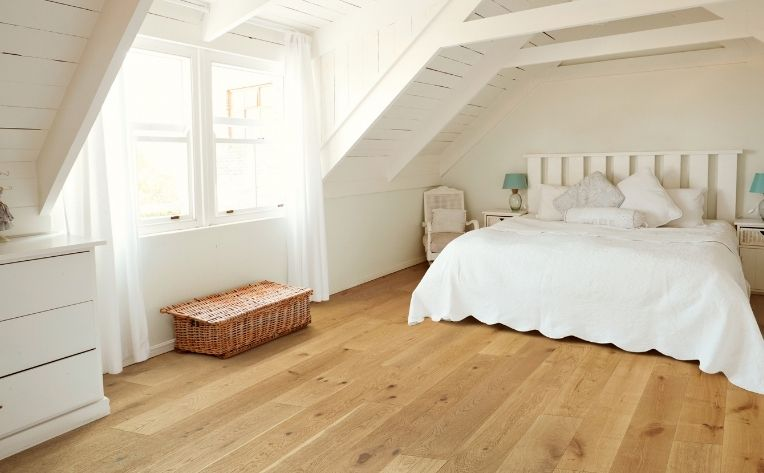 Wood Flooring Stain Walnut Bedroom